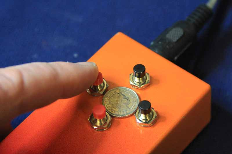 4 Button Actuator